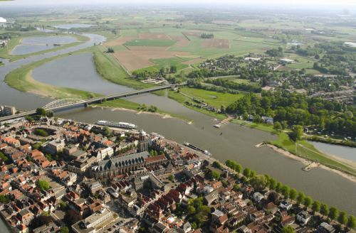 Deventer, luchtfoto